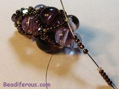 Best Seed Bead Jewelry  2017  Filled net for ropes & embellished beaded beads.  Seed Bead Tutorials