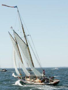 The schooner Adventurer, Norwalk, Connecticut, USA.