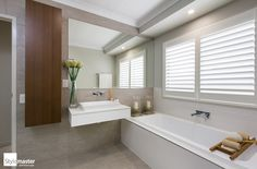 Stylemaster's Baybreeze display home at Narangba. #bathroom #bathroomdesign #bathroominspo #displayhome