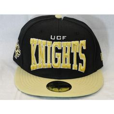 Black and Gold UCF Knights Hat @ Gray's College Bookstore