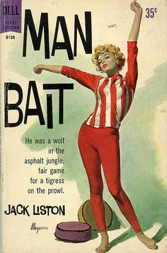 Man Bait by Jack Liston #book #cover