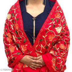 Shawls WOOLEN STOLES Fabric: Wool Multipack: 1 Sizes:  Free Size (Length Size: 2.2 m)  Country of Origin: India Sizes Available: Free Size   Catalog Rating: ★4.5 (852)  Catalog Name: Elegant Stylish Women Shawls CatalogID_3242393 C74-SC1011 Code: 174-16284880-3711