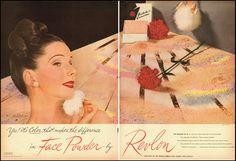 1946 Vintage Ad for Revlon Face Powder 061312 | eBay