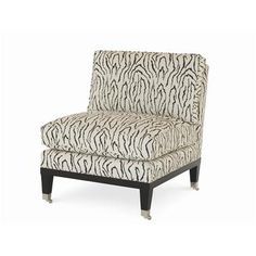 "Century Furniture - Infinite Possibilities. Unlimited Attention.® Statewood Armless slipper chair 30.5""W x 38""D x 37""H"