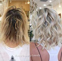 Beige Hair, Brown Blonde Hair, Curly Hair Styles, Medium Hair Styles, Frontal Hairstyles, Bob Hairstyles, Blonde Haircuts, Messy Short Hair, Real Hair Wigs