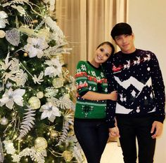 How Your Favorite Celebrity Couples Spent Their Christmas