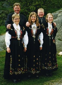 What I would have in Norway. Rogaland Bunad. :)