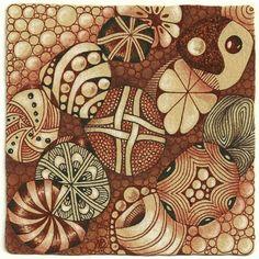 Circles Strings (c)2014 Margaret Bremner, enthusiasticartist.blogspot.com