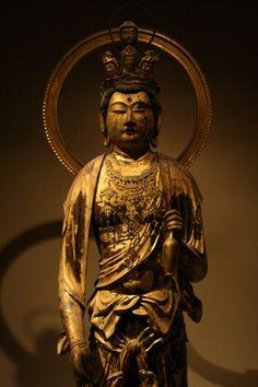 Eleven-Headed Kannon (Ekadashamukha), bodhisattva of compassion.
