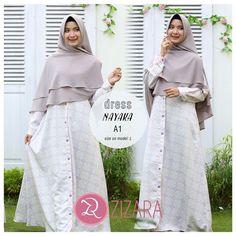Gamis Zizara Nayaka Motif A1 - baju muslim wanita baju muslimah Kini hadir  untukmu yang cantik 65d3505f6a