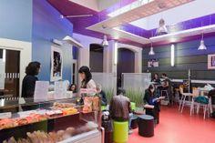 Cafétéria de L'ISG Paris