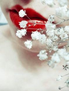 red aesthetic flowers | Tumblr