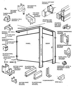 Commercial Bathroom Stall Doors Products I Love Pinterest - Ada bathroom stall door requirements