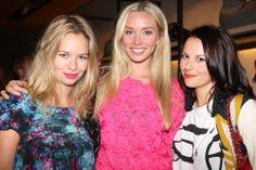 Marissa Hermer, Noelle Reno, and Juliet Angus.