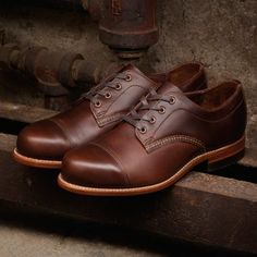 Watson 1000 Mile Oxford - Men's - Casual Boots - W00281   Wolverine
