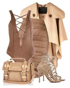 """Sin título #204"" by cleopxtrx ❤ liked on Polyvore featuring Burberry, River Island and Schutz"