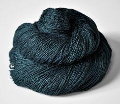DyeForYarn Dead Marshes Tussah Silk Yarn Lace Weight