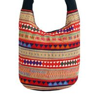 Cotton shoulder bag - Tribal Day - EZISTOCK