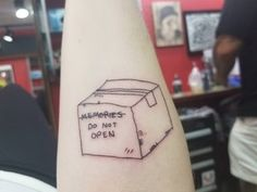 Box of Memories by Neil at Suite Dreamz Tattoo in Honolulu, Hawaii : tattoos