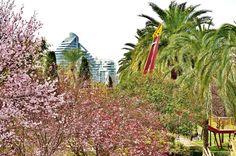 Jardín del Turia en Valencia, España