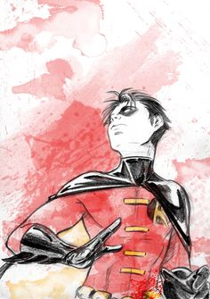 Tim Drake is my favorite Robin--period. Sorry, Dick.  Robin Tim sketch by *MGNemesi on deviantART