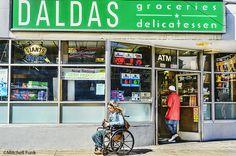 Daldas Delicatessen In The Tenderloin,San Francisco By Mitchell Funk  mitchellfunk.com