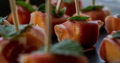 Cuisine-à-Vous - Meloenprikkertjes met prosciutto