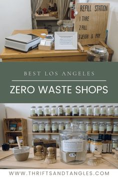A list of the best zero waste shops in Los Angeles. The shops on this list sell everyday items in bulk. It is amazing that they offer a great selection of eco-friendly and sustainable alternatives. Sustainable Gifts, Sustainable Living, Simple Living, Natural Living, Going Zero Waste, Dishwasher Soap, Minimalist Lifestyle, Tiny House Living, Dollar Stores