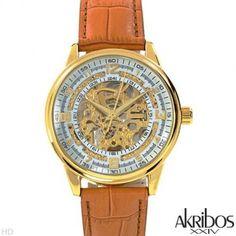 AKRIBOS XXIV AK410YG Automatic Movement Men's Watch