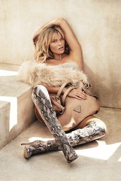 SAMANTHA HOOPES TURNS UP THE GLAM FOR GUESS ACCESSORIES FALL 2014