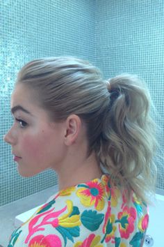 Exclusive! See How Kiernan Shipka Prepped for the Emmys