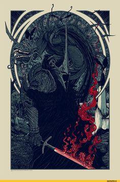 толкин,Король-чародей,Арда,Темная Арда