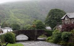 Pictures of towns and landscapes of the United Kingdom, Wales, photo of The Beddgelert Bridge over River Colwyn. Oh The Places You'll Go, Places Ive Been, Pubs And Restaurants, Cymru, Garden Bridge, Wales, United Kingdom, To Go, Country Roads