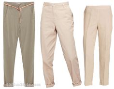 Chinos style pants | 40plusstyle.com
