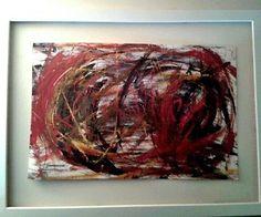 Dipinto astratto Cozzani  no radice perilli dorazio schifano depero baj -40% Beef, Painting, Food, Art, Meat, Painting Art, Eten, Paintings, Ox