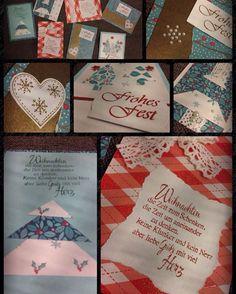 Die ersten Weihnachtskarten sind gebastelt... #vorfreude #weihnachten #schönerabend #basteln #lieblingshobby