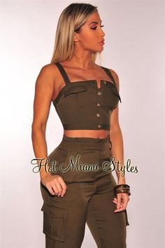 Look at our wide selection of girls' top for almost every situation.Get spread over the brand new season with our assortment of females' fashion garments. White Maxi Dresses, Trendy Dresses, Trendy Outfits, Dresses With Sleeves, Cute Tank Tops, Crop Tops, Choker Dress, Tank Top Outfits, Hot Miami Styles