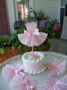 Pretty Dress Cupcake Toppers   Flickr: Intercambio de fotos