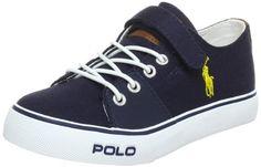 Polo Ralph Lauren Kids Cantor EZ Sneaker (Toddler/Little Kid) Polo Ralph Lauren. $42.00. Canvas. Manmade sole. Made in China