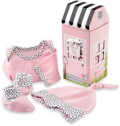 374cda177 Baby Aspen 3-Piece Welcome Home Baby! Layette Set in Pink #matching#