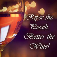Tip to make peach wine