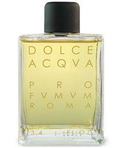 Dolce Acqua by Profumum - notes:  coconut, heliotrope, almond, vanilla, tonka bean