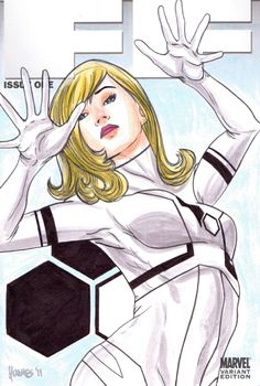 Invisible Woman by Jon Hughes