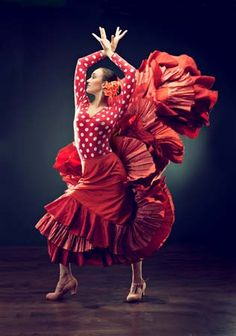 flamenco: Form of song, dance, and instrumental (mostly guitar) music commonly associated with the Andalusian Roma (Gypsies) of southern Spain. (There, the Roma people are called Gitanos. Dancer Photography, Spanish Dancer, Jazz Dance Costumes, Salsa Dress, Tango Dance, Tribal Belly Dance, Ballroom Dance Dresses, Salsa Dancing, Dance Poses