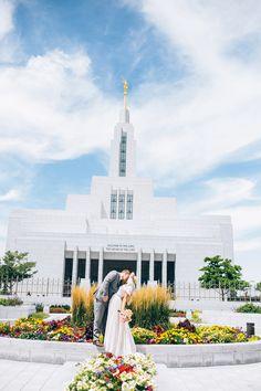 Draper Utah LDS Wedding