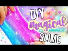 DIY FLUFFY SLIME! How To Make The BEST Slime! - YouTube