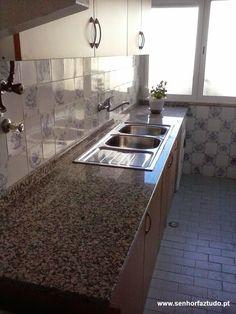 SENHOR FAZ TUDO - Faz tudo pelo seu lar !®: Montagem de uma cozinha Leroy Merlin na Amadora