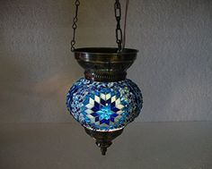 Blue moroccan lantern mosaic hanging lamp glass chandelier light lampen candle lamp tealight holder lampada turca lampada turco candle holder Mosaiklampe lampe mosaique Türkische lampen hng 74 handmade_antiques http://www.amazon.com/dp/B01EDPEFXU/ref=cm_sw_r_pi_dp_DU6exb1J88XXM