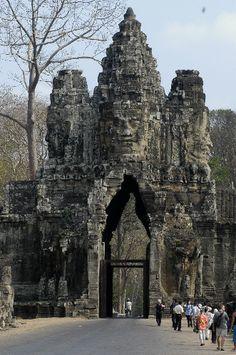 Angkor Thom, Angkor Cambodia.