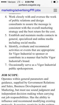 Craigslist Resumes Pint On Resume Ideas  Pinterest  Resume Ideas